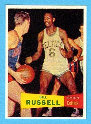 Bill Russell 1957 Basketball Rookiel Reprint (Celtics)