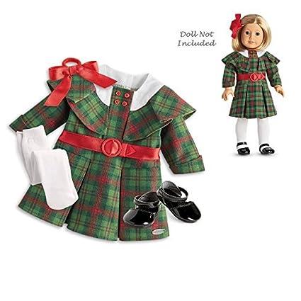 Christmas Outfit.Amazon Com American Girl Kit S Christmas Outfit For 18