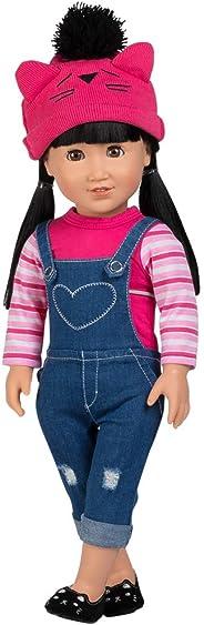 Adora Amazing Girls 18-inch Doll, ''Cool Cat Zoe'' (Amazon Exclusive)