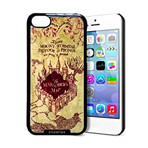 fashion case Marauders Map iphone 4s Case - Thin Shell Plastic Protective Case iphone 4s Case