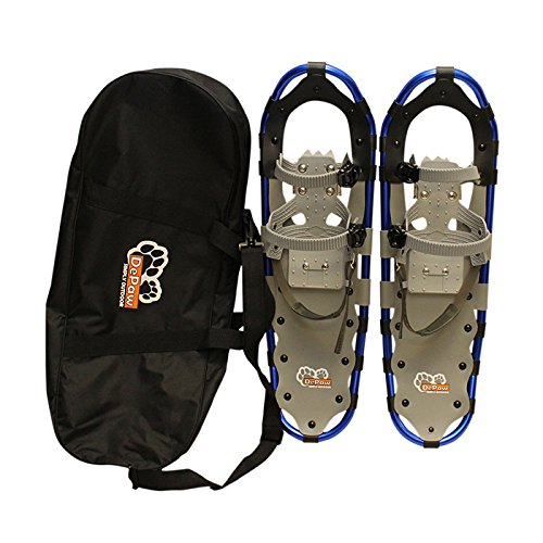 New MTN Extreme Lightweight All Terrian Man Woman Kid Teen Snowshoes +Pole + Free Bag (27inch) by MTN Snowshoes