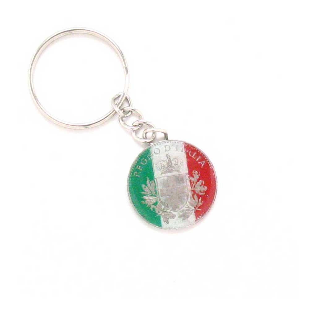 Italy Key Chain Car Coin Flag Italian Rome Souvenir Gift Business Venice Naples by Marcos Villa (Image #1)