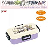 pos.324635 Disney Princess Rapunzel comic fluffy lunch box 530ml PFLB6 housework [parallel import goods]