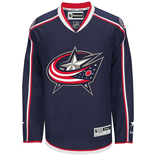 Columbus Blue Jackets Reebok 2015-16 Premier Replica Home NHL Hockey Jersey - Size ()