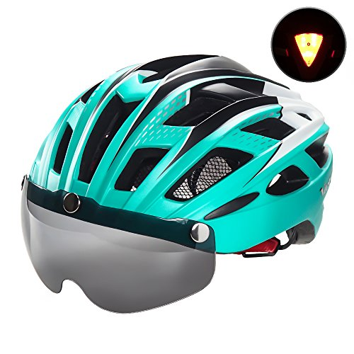 VICTGOAL Helmet for Men Women with Safety Led Back Light