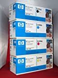 Set of 4 HP LaserJet 4500 4550 CMYK Toner Cartridges HP C4191A, HP C4192A, HP C4193A, HP C4194A, Office Central
