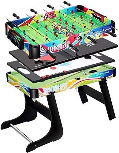 Combo Multi Mesa determinado del juego de hockey de interior diapositivas juego de la Tabla 4 en 1 plegable Entretenimiento Mesa de 32