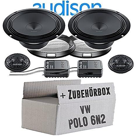 Audison APK-165-16cm Lautsprecher System - Einbauset für VW Polo ...