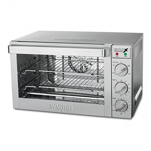 Waring Commercial WCO500X 1/2-Sheet Pan Sized Convection Oven (Small Commercial Oven compare prices)