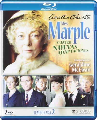 Agatha Christie's Miss Marple Adaptations - Season 2 (4 Films) - 2-Disc Set ( Marple: Sleeping Murder / Marple: By the Pricking of My Thumbs / Marple: The Moving [ Blu-Ray, Reg.A/B/C Import - Spain ]