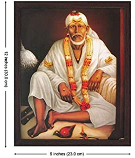 Amazon com: Lord Sai Baba in Various Occassions Poster