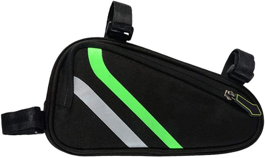 Cassiela Bicycle/Triangle/Bag bike storage bag triangle Top Tube Saddle Packet Mountain bike mobile phone bag Suitable for storage while riding
