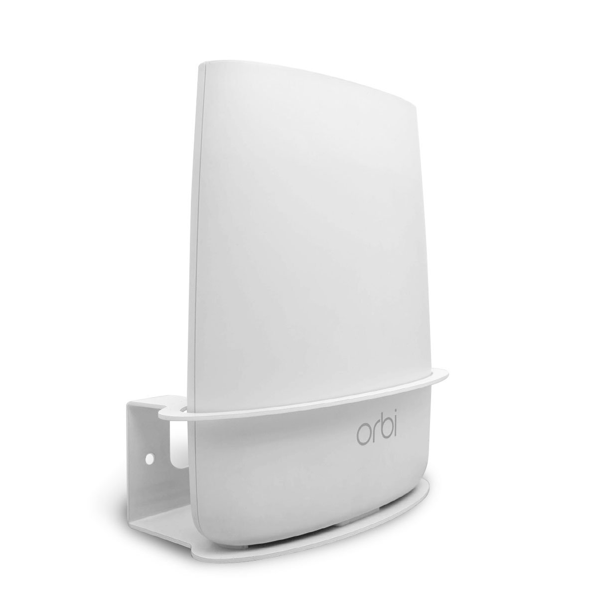 Wall Mount for Netgear Orbi, ALLICAVER Sturdy Metal Made Mount Stand Holder for Orbi Router RBS40, RBK40, RBS50, RBK50, AC2200, AC3000. (1 pcs)
