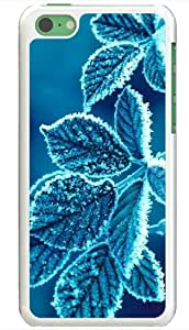 Apple iPhone 5C Cases Customized Gifts Of Photography Photography Cold Leaves White