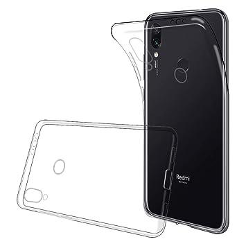 ANEWSIR Funda Compatible con Xiaomi Redmi Note 7/Note 7 Pro, TPU con Superficie Mate Silicona Fundas para Xiaomi Redmi Note 7 /Note 7 Pro Carcasa ...