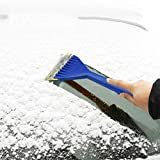 VT BigHome Car Vehicle Auto Durable Snow Ice Scraper Snow Brush Shovel Removal Winter Windshield Cleaning Winter Bicycle Motor Snow Clean