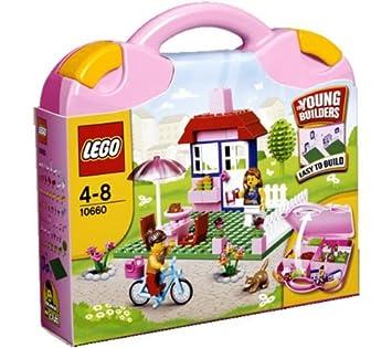 Maletín Para 10660Amazon Lego Niña De Construcción es Bricks KTc3F1lJ