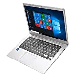 2019 Thin and Light Notebook 14 inch Laptop HD 1366 * 768 Intel Atom X5-E8000 Dual Core, 1.04Ghz CPU, up to 2.0Ghz, 4GB RAM, 64GB eMMC, expandable up to 1TB HDD, WiFi, HDMI Windows 10 Home