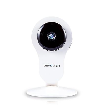 DBPOWER Cámara de vigilancia IP HD IP de la red inalámbrica, filtro de paso IR
