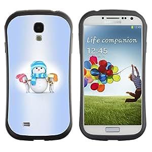 "Hypernova Slim Fit Dual Barniz Protector Caso Case Funda Para SAMSUNG Galaxy S4 IV / i9500 / i9515 / i9505G / SGH-i337 [Invierno Niños Pequeños Vacaciones""]"