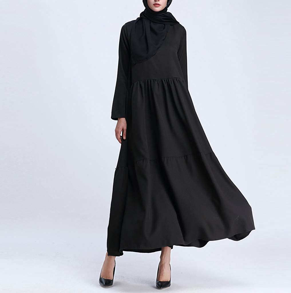 Womens Elegant Casual T Shirt Dress Tie Waist Lantern Long Sleeve Autumn Winter Dresses 822