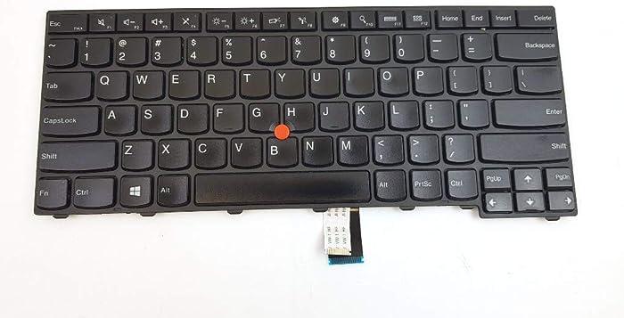US Layout Laptop Keyboard for Lenovo ThinkPad T431 T431s T440 T440E T440p T440s T450 L440 Compatible with 0C45328 04Y2763 PK130X72A00