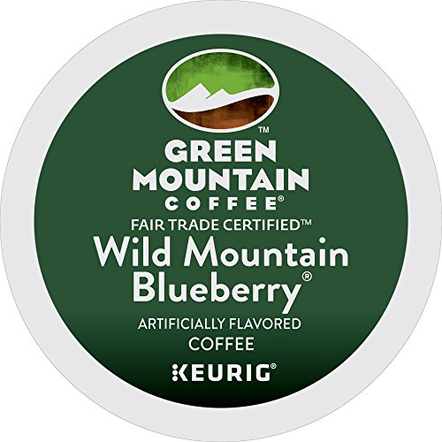 Immature Mountain Coffee Wild Mountain Blueberry, Keurig Single-Serve K-Cup Pods, 72 Count (6 Boxes of 12 Pods)