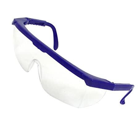 5778100a702 Blue Plastic Frame Arms Transparent Mono Lens Goggles for Women  Amazon.co. uk  DIY   Tools