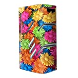 wax for e cig - Skin Decal Vinyl Wrap for Smok T-Priv Vape stickers skins cover/ Colorful Wax Daisies Flowers