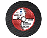 Mercer Abrasives 613170-50 Small Diameter High Speed Fully Reinforced Cut-Off Wheels 3-Inch by 1/8-Inch by 3/8-Inch M, 50-Pack