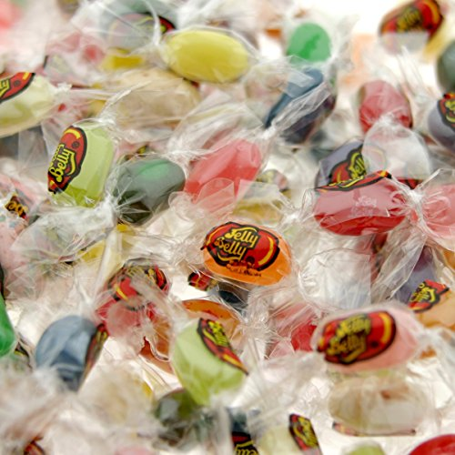 Jelly Belly Individually Wrapped Jelly Beans Bag, 20 Assorte
