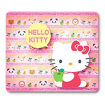 Hello Kitty Mouse Pad: Fruits