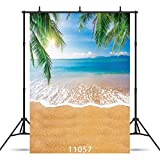 SJOLOON 5x7ft Beach Wedding Photography Backgrounds Sea Photo Backdrops Vinyl Holiday Background Studio Props 11057