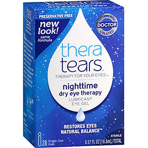 Thera Tears Liquid Gel (TheraTears Liquid Gel, 28-Count Package (Pack of 3))