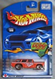 Hot Wheels 2002 Red Lines Series Chevy Nomad 4/4 #106 ORANGE