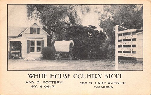 Postcard White House Country Store in Pasadena, - In Stores Pasadena