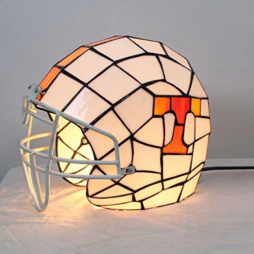 Volunteers Stained Glass Helmet Table Lamp ()