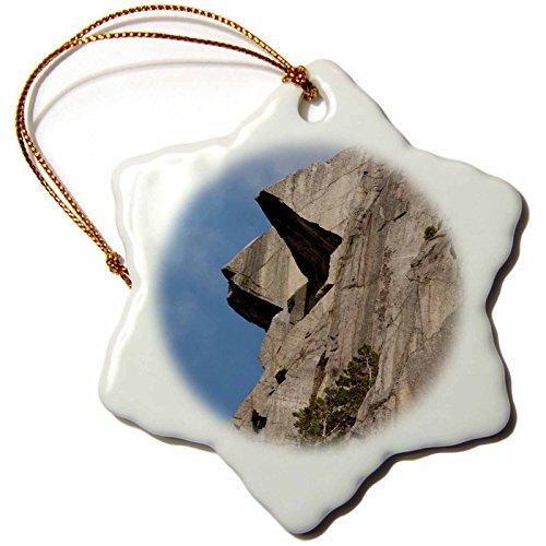 Pulpit Rock (3dRose Danita Delimont - Cliffs - Norway, Stavanger, Pulpit Rock cliff - EU21 CMI0255 - Cindy Miller Hopkins - 3 inch Snowflake Porcelain Ornament (orn_82369_1))