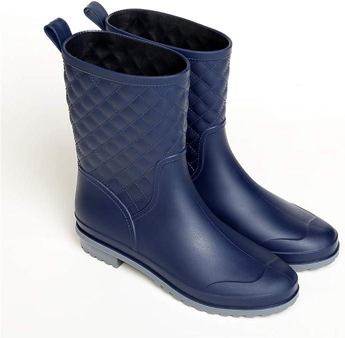 Kids WELLINGTON Pluie Neige Bottes gomme Bottes Imperméable Hiver Chaud Chaussures