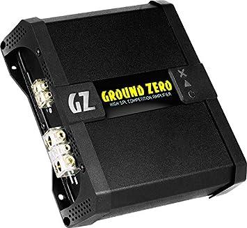 Ground Zero GZCA 1.2K-SPL Class-D Mono-Fullrange-Endstufe 1350 Watt RMS
