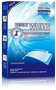 Professional Teeth Whitening Strips with Non-Slip Tech - Bright White - Lovely Smile Premium Line