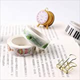 DHmart 15/20mm8m Japan Hand Account washi Tape