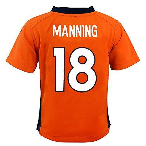 Manning Game Jersey - Nike Toddler's Denver Broncos Peyton Manning #18 Game Jersey, Orange