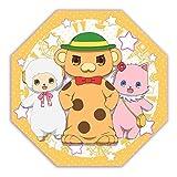 Amagi Brilliant Park tabletop mini umbrella Moffuru / macaroon / Tirami