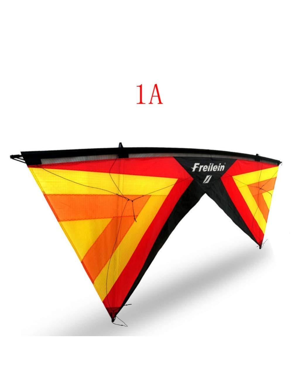 ZSYF Drachen Kite Standard Quad Line Lenkdrachen Fliegen Im Freien Professionelles Sport-Lenkdrachenset Für Erwachsene D