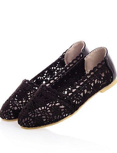 casual uk6 de sintético zapatos libre pisos mujer cuero eu39 al comodidad beige PDX us8 marrón vestido beige talón cn39 aire plano negro RwfgqxEOS
