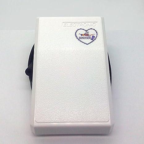 Pedal Honeysew para máquina de coser Singer, neumático o de aire, pedal de control de velocidad 4600 9000 6233 9100+ #979583 003: Amazon.es: Hogar