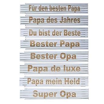 Zollstock Meterstab Laser Gravur Spruch Vatertag Opa Geburtstag Text
