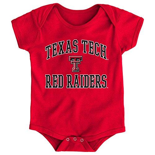 - Gen 2 NCAA Texas Tech Red Raiders Newborn & Infant Primary Logo Bodysuit, 24 Months, Red