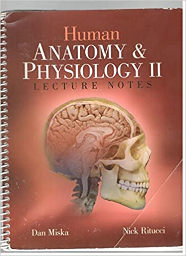 Human Anatomy And Physiology 2 Lecture Notes Dan Miska